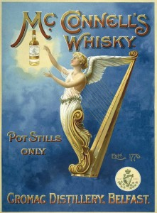 Reklama metalowa 30x40cm - MC CONNELLS WHISKY