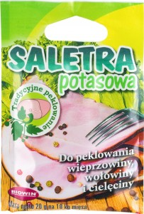 Saletra potasowa do peklowania 20g
