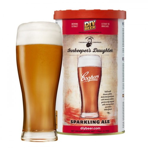 COOPERS 1,7kg - Innkeeper's Daughter Sparkling Ale